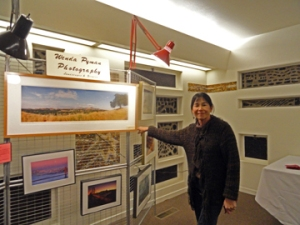 Wenda Pyman shows her local landscape photography.