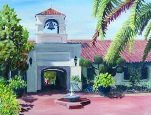 Saint Mary's courtyard small