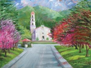 Springtime at Saint Mary's College, Morga