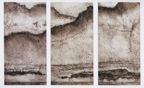 Ancestral mountains triptych