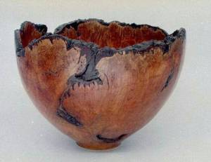 Turned Bowl by Jacques Blumer