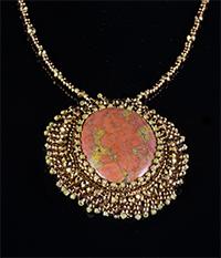 Kiy Nitta Beaded pendant