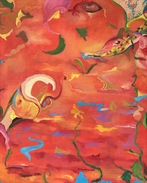 Monica's Painting