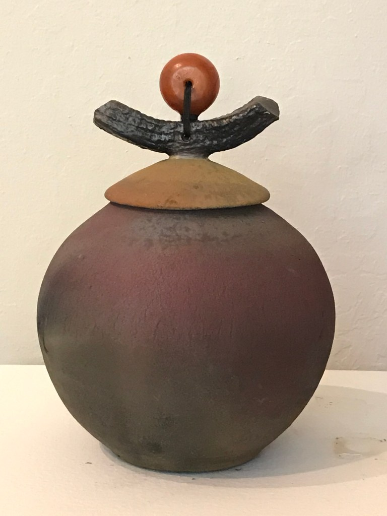 Ceramic vessel by Mary Leigh Miller